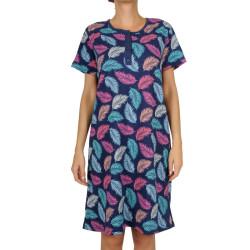 Dámská noční košile La Penna nadrozměr vícebarevná (LAP-Y-18251)