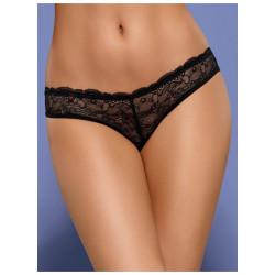 Dámské kalhotky Obsessive Frivolla černé