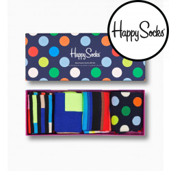 4PACK ponožky Happy Socks Classic Gift Box (XNCG09-9300)