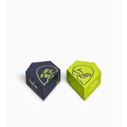 2PACK ponožky Happy Socks Bestie Socks Gift Set (XBES02-6500)