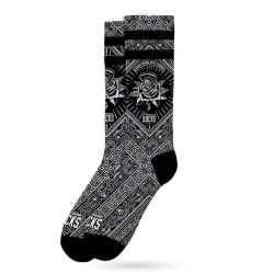 Ponožky American Socks Bandana Black (AS134)