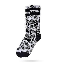 Ponožky American Socks Skater Skull (AS048)