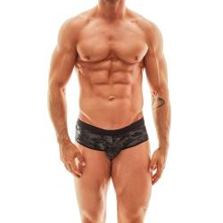 Pánské jocksy Anais černé (Jock Bikini)