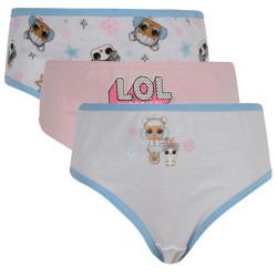 3PACK dívčí kalhotky E plus M Lol Surprise vícebarevné (LOL-099)