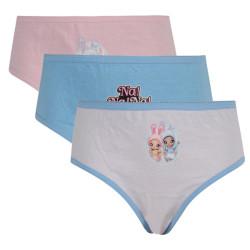 3PACK dívčí kalhotky E plus M Na! Na! Na! Surprise vícebarevné (NANA-011)