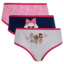 3PACK dívčí kalhotky E plus M Lol Surprise vícebarevné (LOL-144)