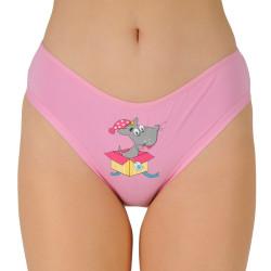 Dámské kalhotky Andrie růžové (PS 2643 A)