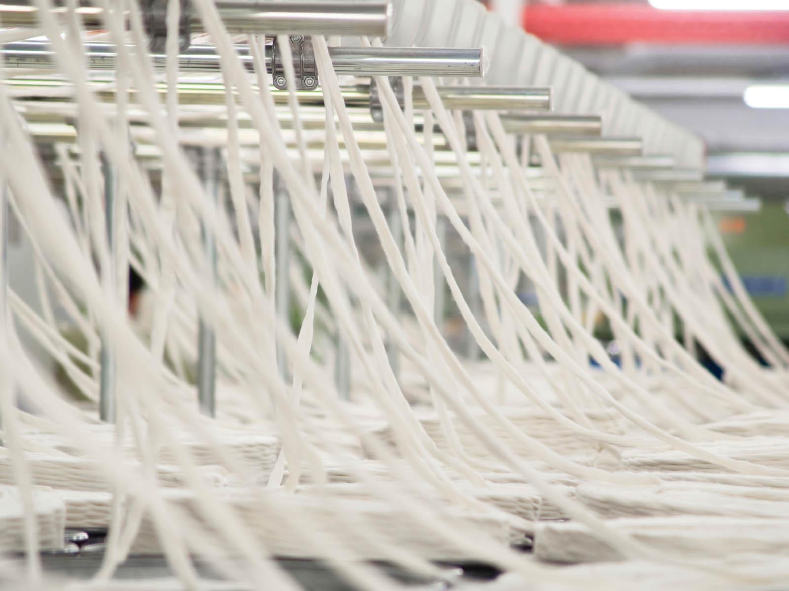 Výroba bambusového vlákna