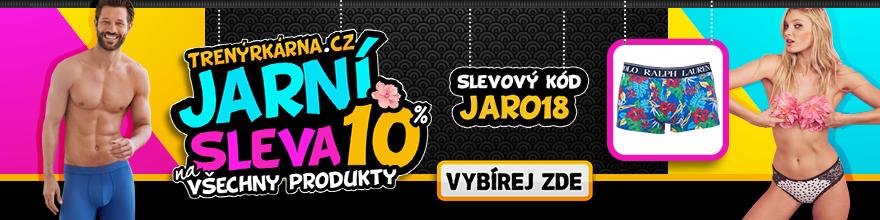 Jaro se slevou 10% na Trenýrkárna.cz