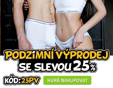 Podzimní výprodej 25%