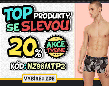 Top produkty s 20% slevou