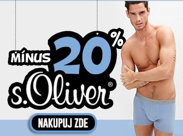 20% sleva na S.Oliver