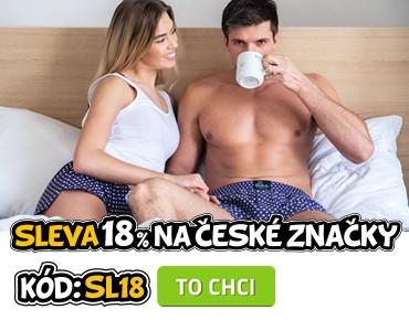 Sleva 18% na české značky