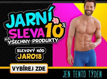 Jaro se slevou 10% na vše na Trenýrkrána.cz